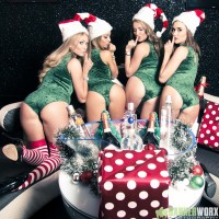 Shoot with Shoosh VIP Waitresses
