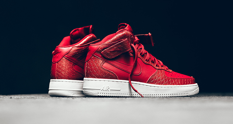 "best cheap a5cb9 37f86 Fashion | Nike ""Red Python"" Air Force 1 Mid 07 LV8 